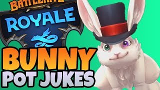 Bunny Pot Jukes | Battlerite Royale Croak Gameplay