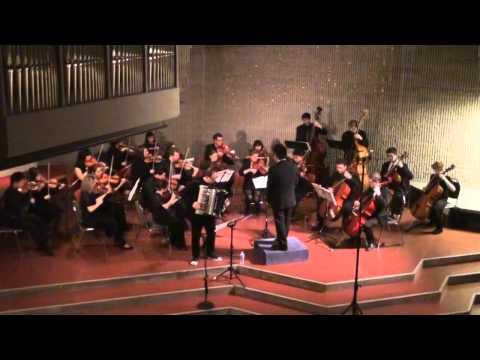 Yann Tiersen: J'y suis Jamais Alle (Peter Bufano, Accordion, Motoki Tanaka, Boston String Players)