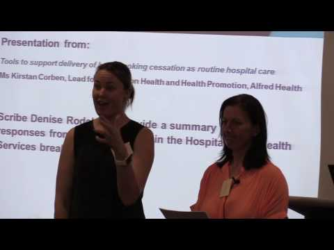 Hospital and Health Services:  report back from breakout session