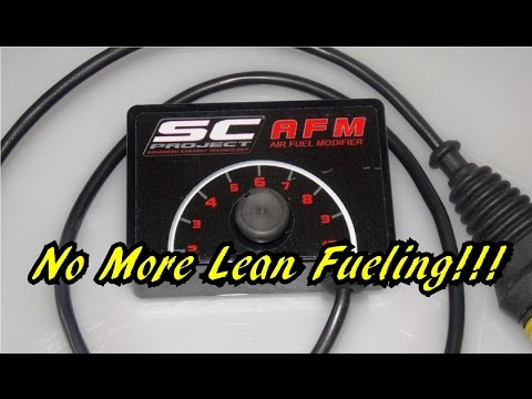 SC PROJECT AFM REVIEW,FITTING AND DYNO