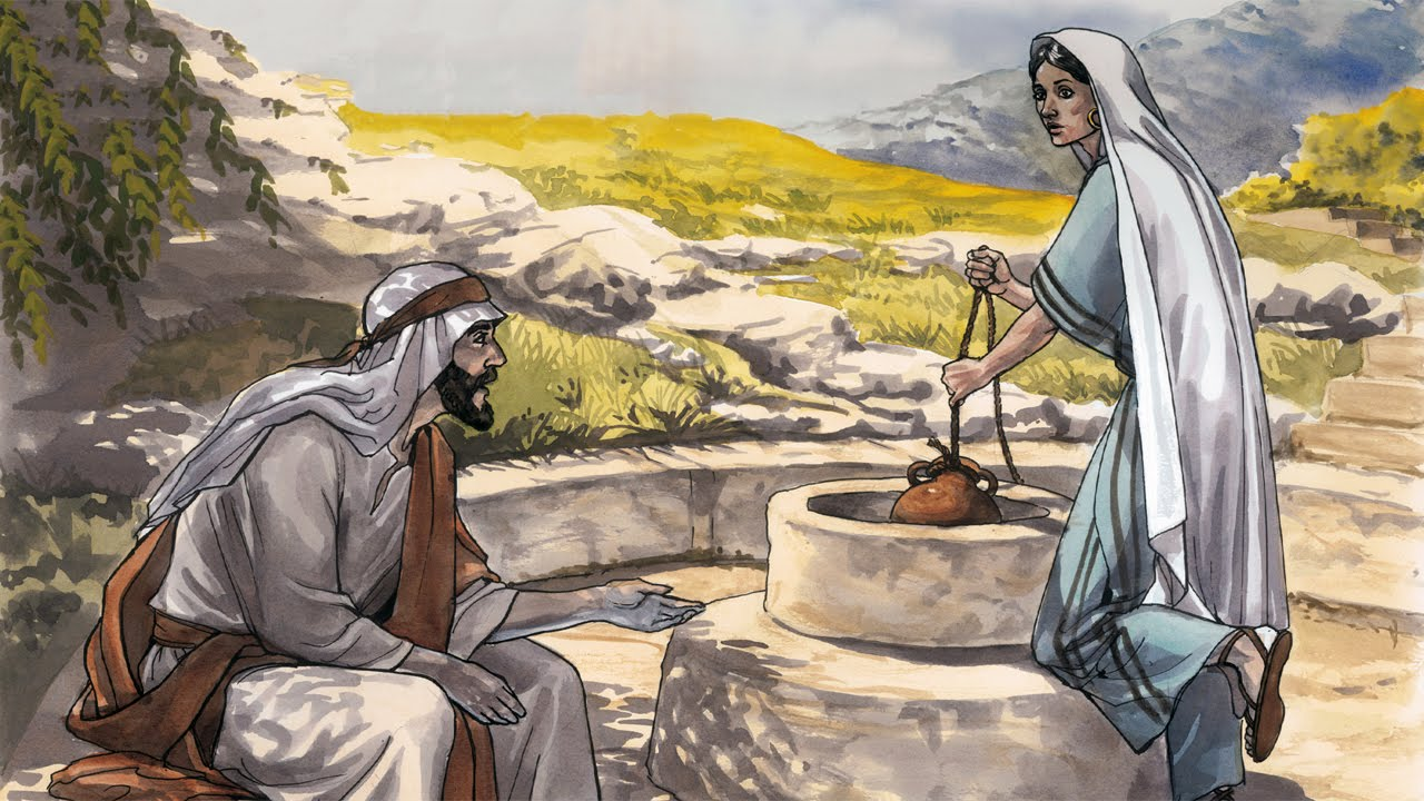 Image result for the samaritan woman