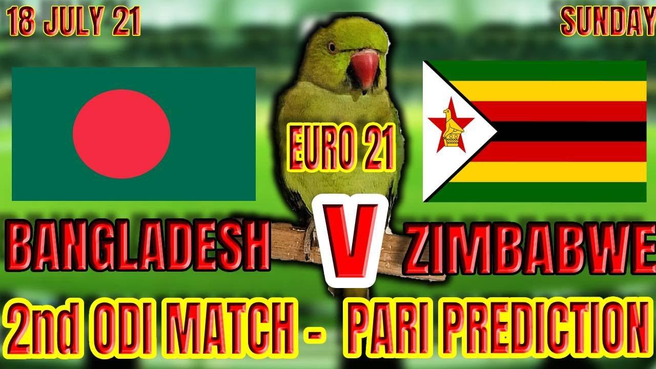 BANGLADESH vs ZIMBABWE 2nd ODI Match   PARI PREDICTION