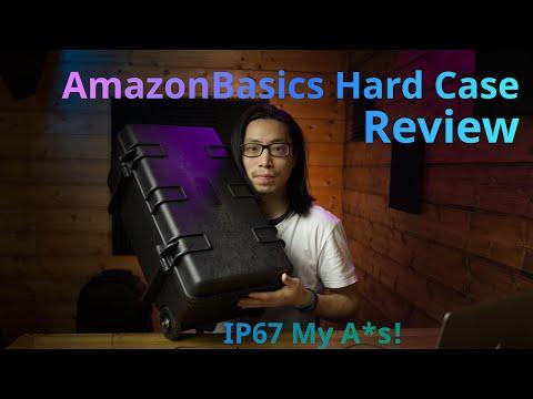 AmazonBasics Hard Case Review