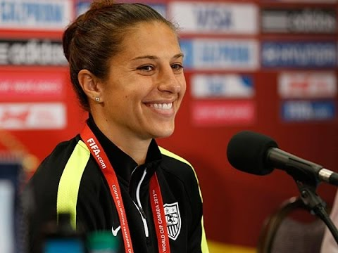 Carli Lloyd {Funny Moments}