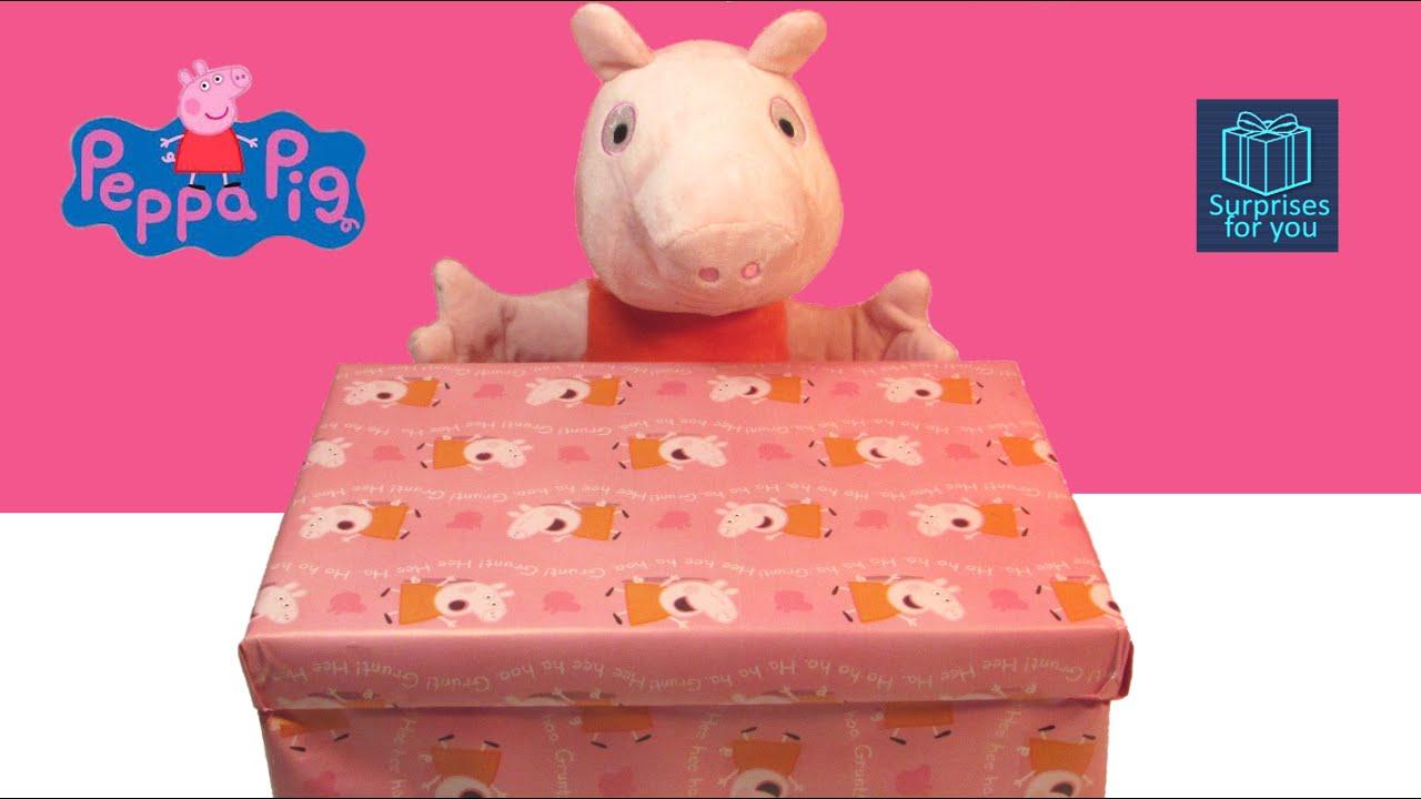Peppa pig juguetes caja sorpresa