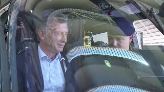 El presidente Macri recorrió hoy la Fábrica Argentina de Aviones (FAdeA)