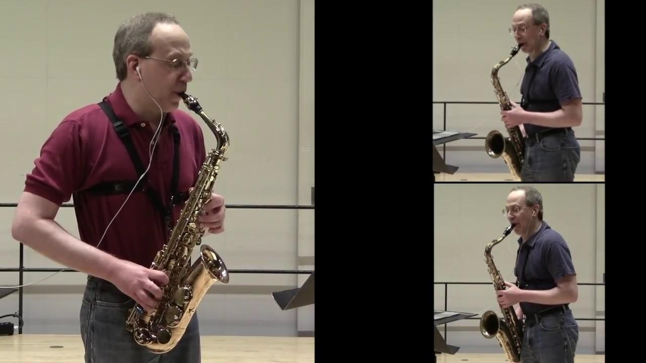 Medieval music on saxophone:  Guillaume de Machaut – Donnez, signeurs