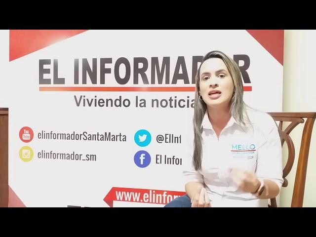 """""""El Mello tiene las relaciones con el Gobierno para traer soluciones de fondo"""": Tatiana Otero"""