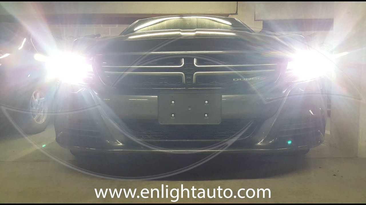 maxresdefault diy 2015 dodge charger hid headlight kit install enlight 2015 Charger at creativeand.co