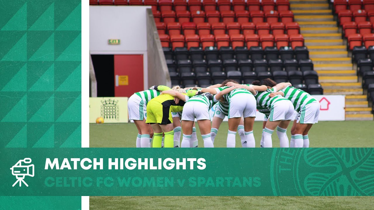 HIGHLIGHTS: Celtic FC Women 2-2 Spartans | Wellings saves Celts with late equaliser