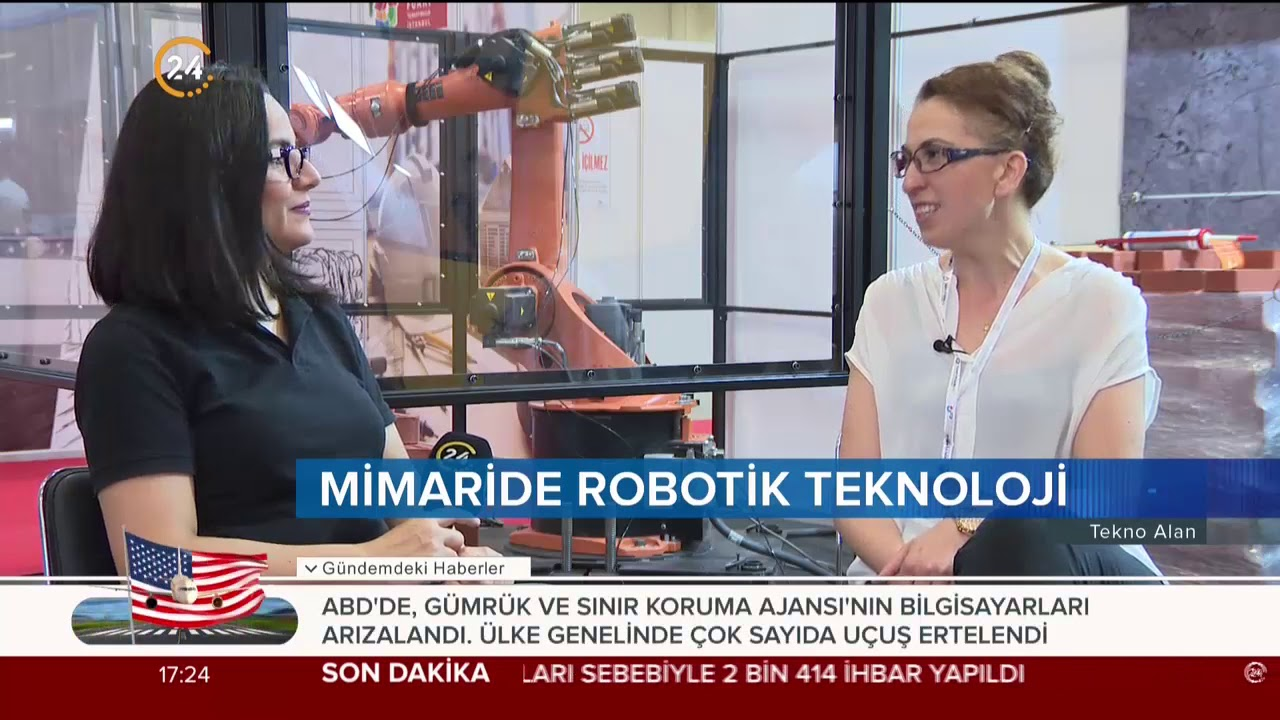 Tekno Alan (17.08.2019) Teknoloji ile gelişen mimarı