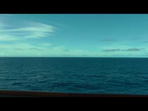 sailing towards Barbados in the open Atlantic on the Viking Sea on a Viking West Indies Cruise