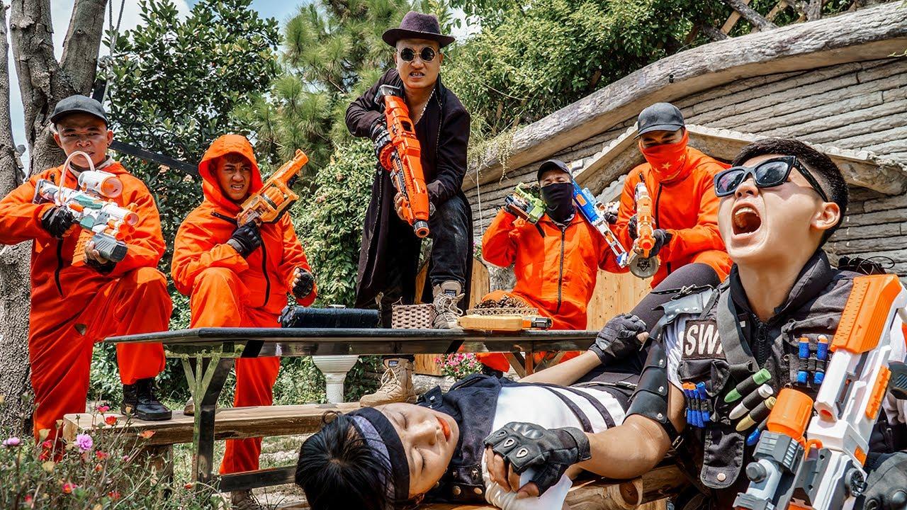 LTT Nerf War : Squad SEAL X Warriors Nerf Guns Fight Gangs Dr.Lee Crazy Woman Of Revenge