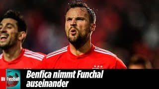 Seferovic trifft bei irrer 10 Tore-Gala | Benfica Lissabon - Nacional Funchal 10:0 | Highlights|NOS