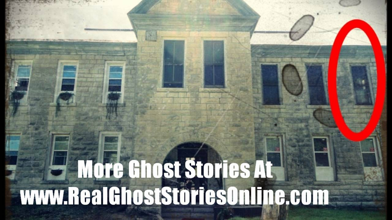 ghost child caught on tape haunted school youtube