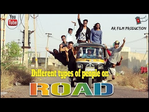 Different Types Of People On Road