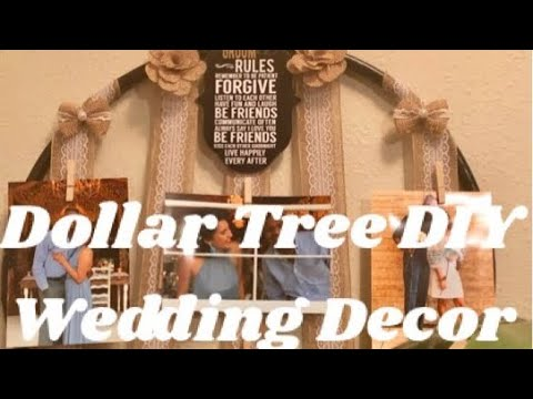 How To Make Flower Bouquet: DIY Wedding Centerpieces Dollar Tree DIY Inexpensive Wedding Decor 2019