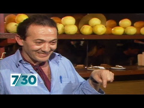 Melbourne's beloved Sisto Malaspina speaks in 1987, on Italian immigration | 7.30