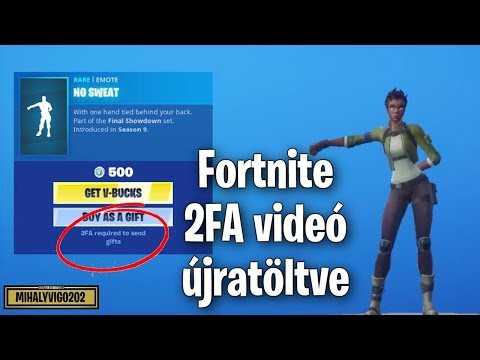 Fortnite 2FA Röviden | Two-Factor Authentication