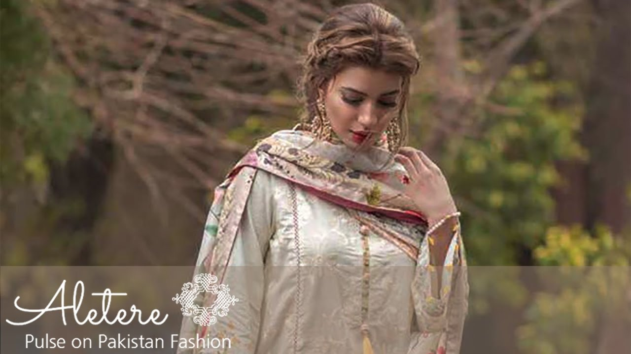 2affbefc47 Latest Rungrez Lawn Collection 2017 by Aletere.com - YouTube