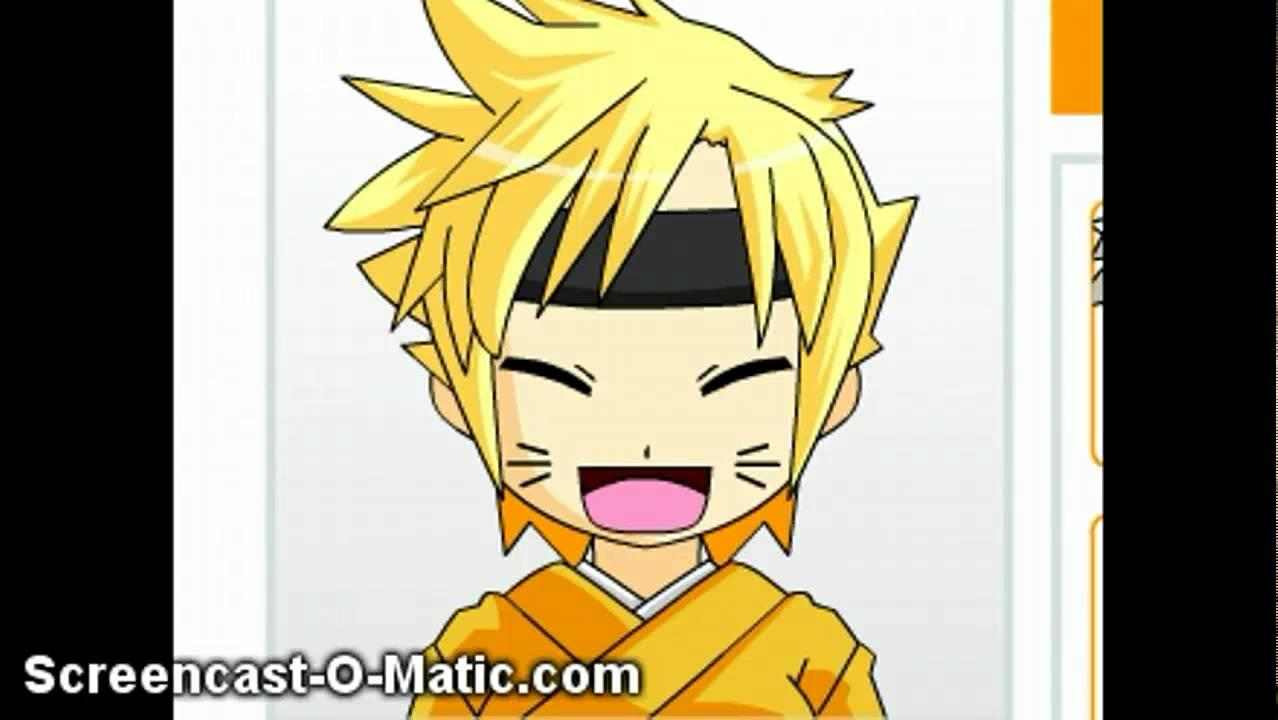 naruto anime face maker
