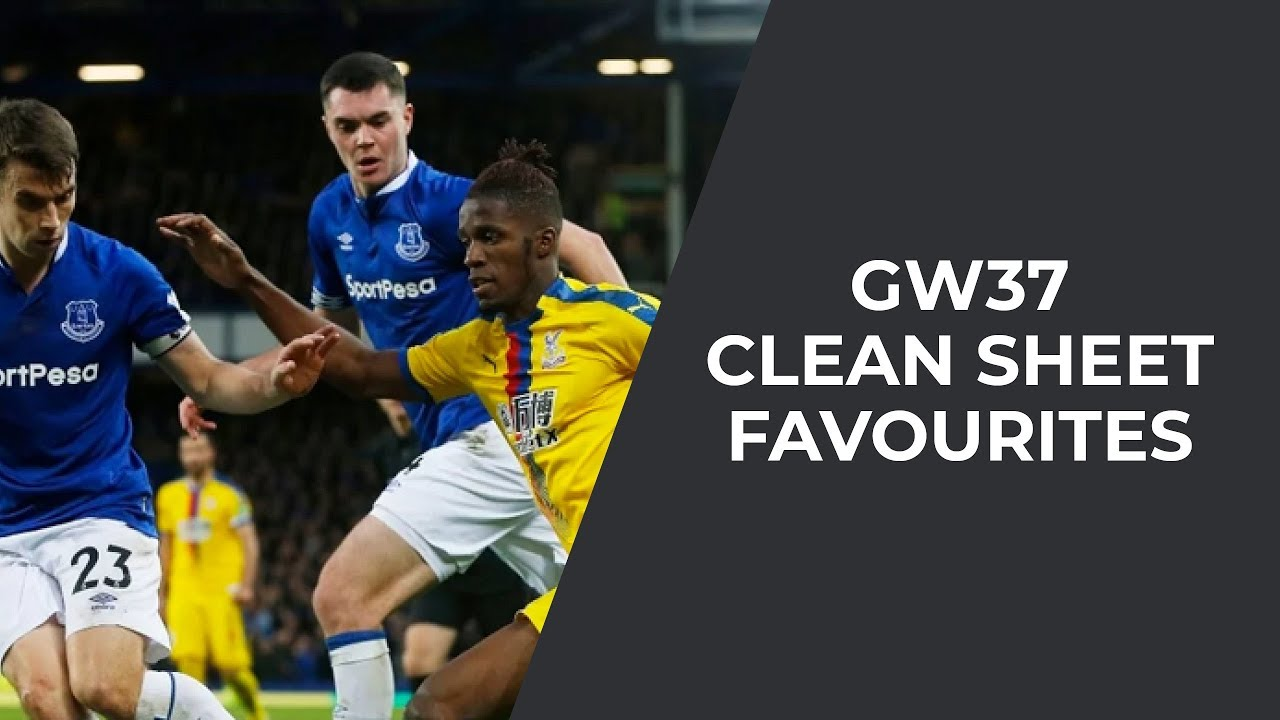 Gameweek 37: Clean Sheet Odds and Anytime Goalscorers
