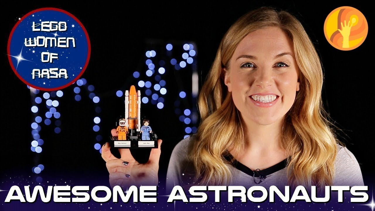 Awesome Astronauts | LEGO's Women of NASA! | Maddie Moate