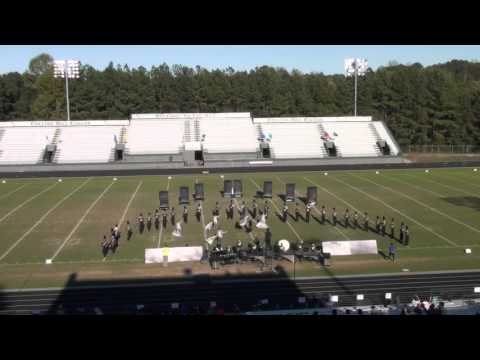 Wesleyan School Marching Band at Collins Hill Eagles Nest Invitation 10-17-2015