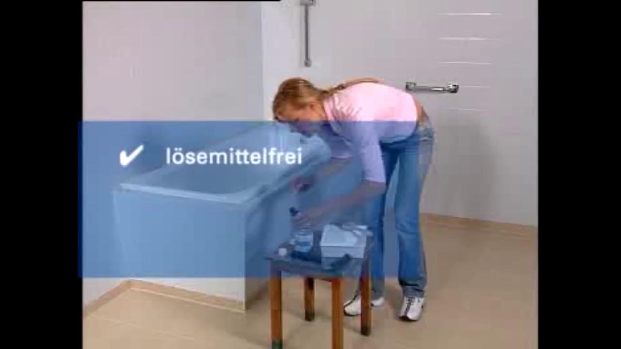 Vietschi-Farben pres. Jaeger Badewannenlack POS Wanne - YouTube