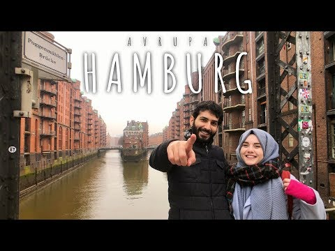Almanya'nın Hamburg Şehrinde Bir Gün - Vlog | hayallerimiz kadar yaşıyoruz