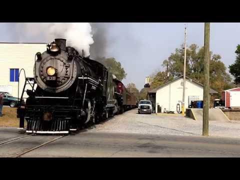 Summerville Steam Doubleheader Southbound Chattanooga TN to Summerville GA