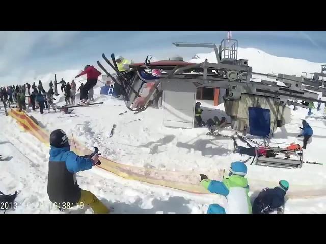 ski lift accident, gudauri