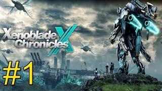 xenoblade Chronicles X Wii U часть 1  Великий Исход