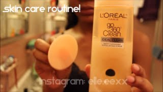 Nightime Skin Care Routine!