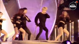 JIMIN SEULGI moment    SBS GAYO DAEJUN 2016