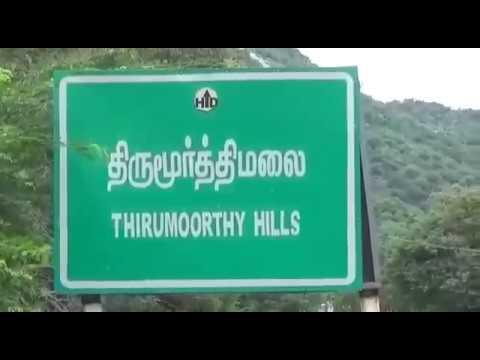 thirumoorthy hills - panchalinga falls