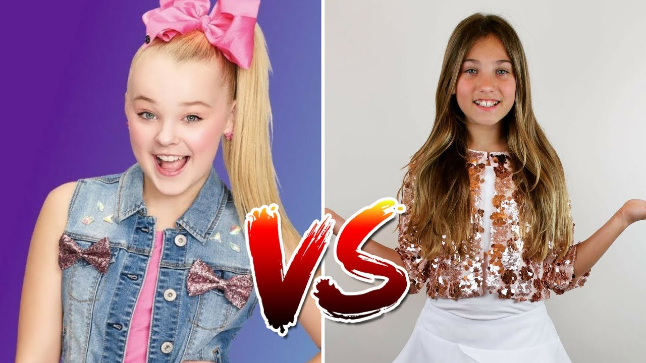 Jojo Siwa Every Girls A Super Girl Vs Rosie Mcclelland