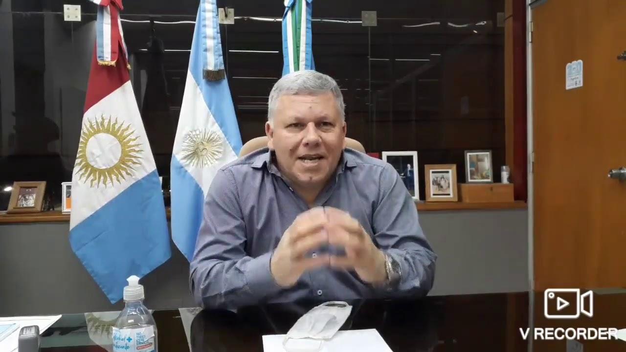 Comunicado del Intendente Gustavo Benedetti - 27 de Septiembre