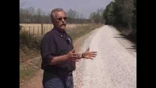 GRAVEL ROADS - Mississippi County Repairs Gravel Roads Easily and Inexpensively