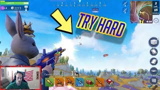 TRY HARD GAME KILLING LAST GUY IN THE AIR! GG! (Creative Destruction)