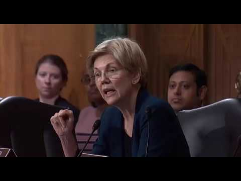 Elizabeth Warren GRILLS Wells Fargo Ceo On Unauthorized Accounts PART 2 9/20/16