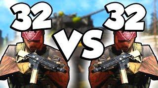 64 PLAYER GROUND WAR! (Modern Warfare Beta)