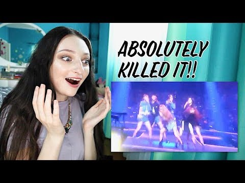 (G) - IDLE - BTS Fake Love Cover Reaction!! Live Stage in Taipei
