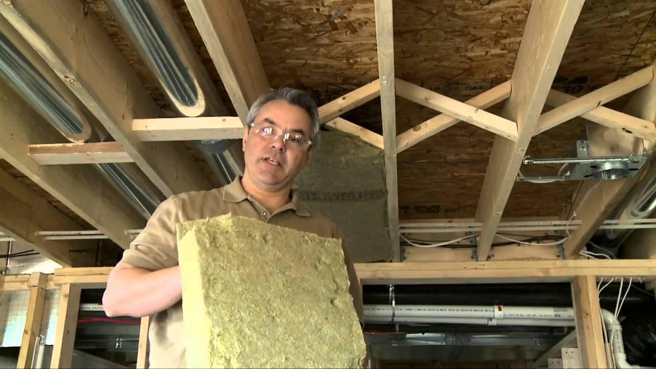 Comment insonoriser les plafonds entre les tages  YouTube