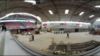 Ampliación del Gimnasio de Trouville en 360°