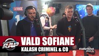Vald, Sofiane, Kalash Criminel, Biffty & Suik'on Blaze AD en live #PlanèteRap