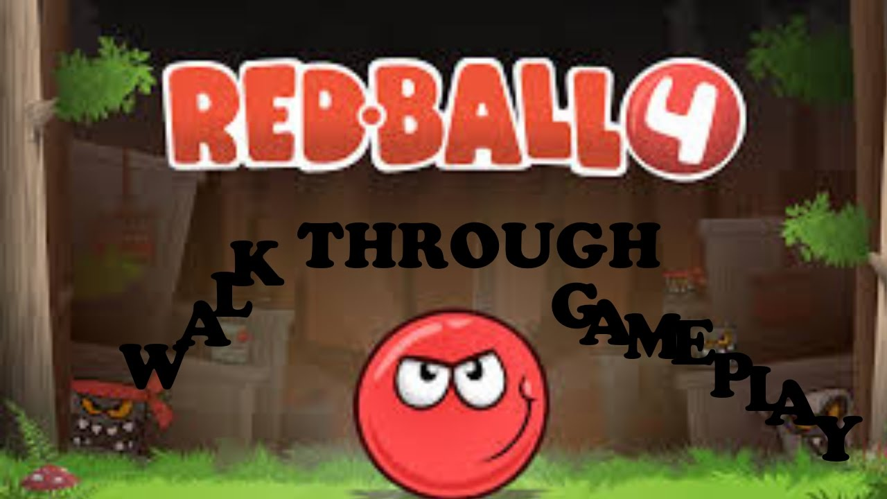 Red Ball 4 Vol. 1 (WALKTHROUGH) Coolmath-games.com