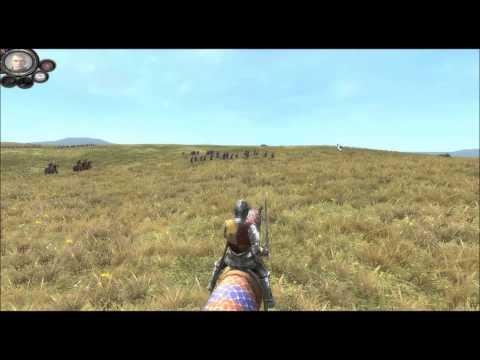 Medieval 2 Total War Battle Immersion mod: Battle footage! (vid5)
