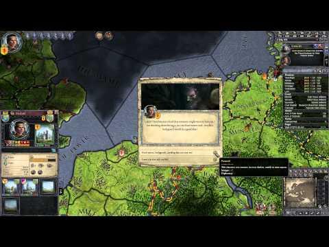 "Crusader Kings II (Holland) #18 ""Retaking Brugge and Brabant"""
