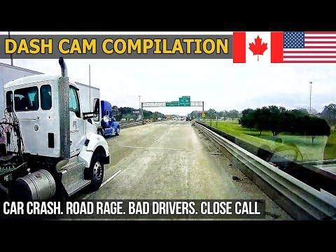 US Dash Cams (USA & CANADA) Car Crashes in America 2018   2019 # 29
